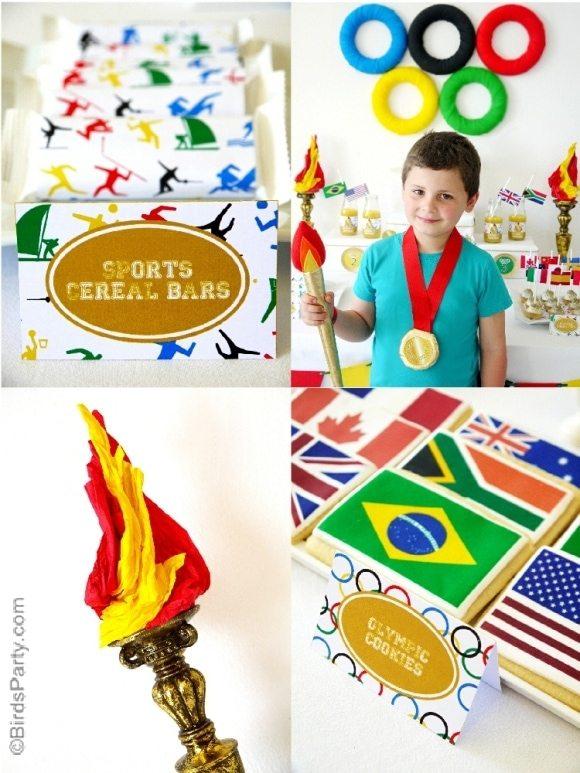 Olympics Birthday Party Ideas