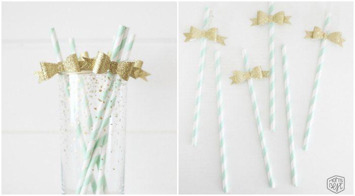 diy paper bows from momsbestnetwork.com