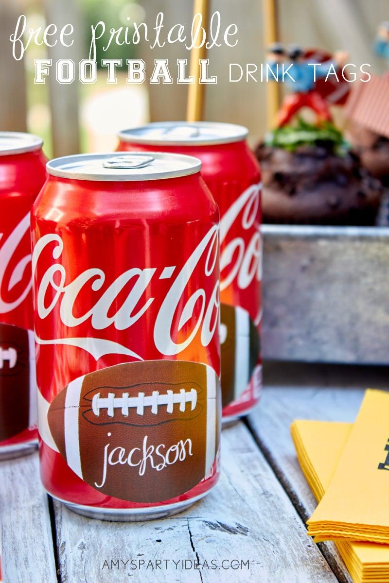 free football printables   Coca-Cola-Fall-Football-Sams-Club-Tailgate #shop #ShareYourSpirit #CollectiveBias #ad