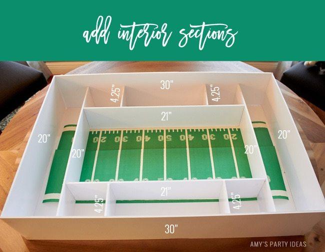 DIY Tutorial Build Your Own Snack Stadium | DIY Snack Stadium | Football Big Game | Build your own Snack Stadium with easy tutorial instructions | #GameDayGlory  #ad