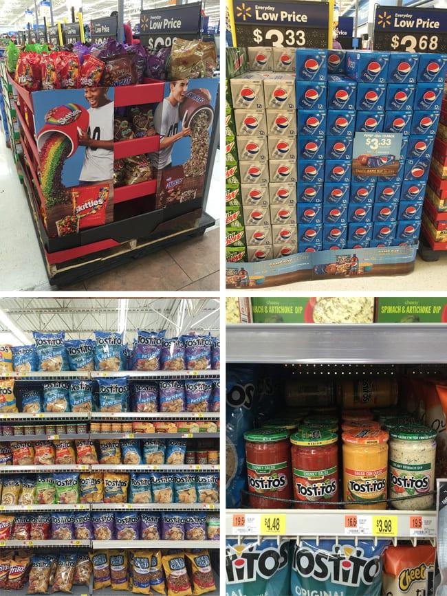 Walmart #GameDayGlory Snack Stadium snacks #ad