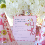 Dancing Monkey Birthday Party {Parties I've Styled}