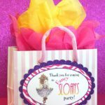 Fancy Nancy Favor Bags