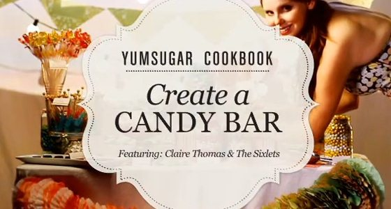 Create your own Candy Bar – DIY video tutorial