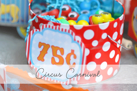 Circus Carnival Party Candy Bar! {Real Parties I've Styled}