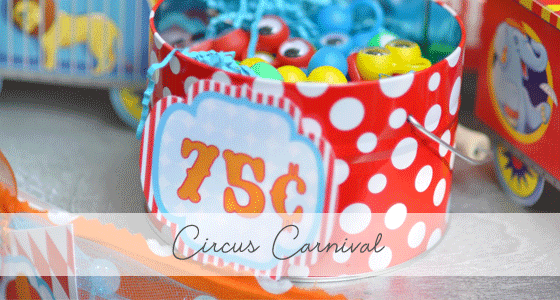 Circus Carnival Party Candy Bar! <br>{Real Parties I've Styled}