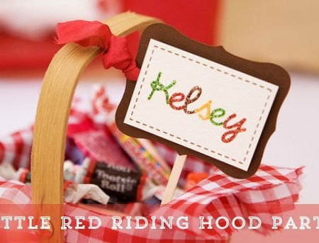 Little Red Riding Hood Party {Real Parties}