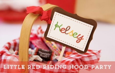 Little Red Riding Hood Party Ideas
