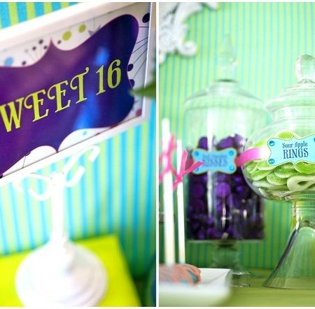 Sweet Parties for Sweet Sixteen!