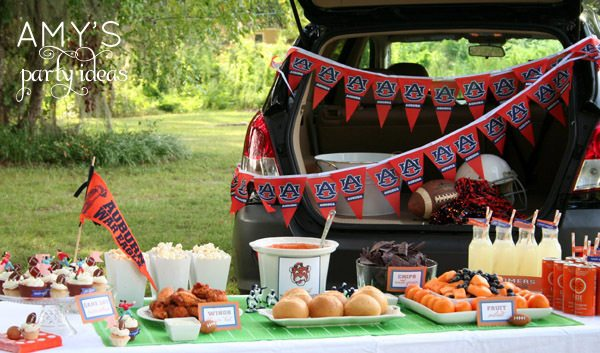 auburn tailgating party ideas