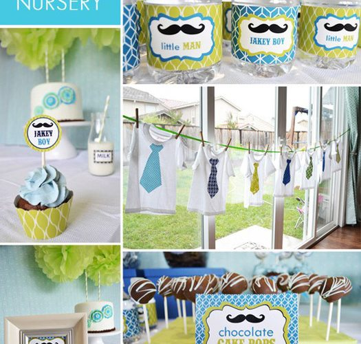 Little Man Family Party Ideas {Ask Amy}
