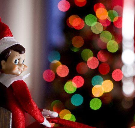 Elf on the Shelf Idea Calendar