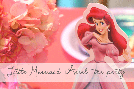 Little Mermaid Tea Party {Real Parties I've Styled}