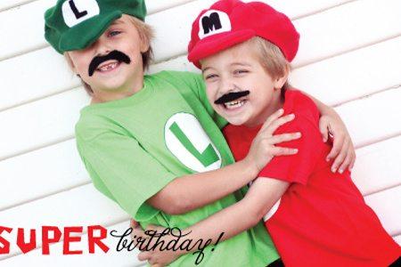 Mario Mark & Luigi Luke {Real Party}