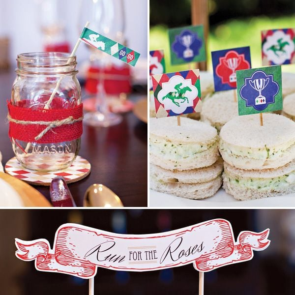Kentucky Derby Party Inspiration | Free Printables from HWTM