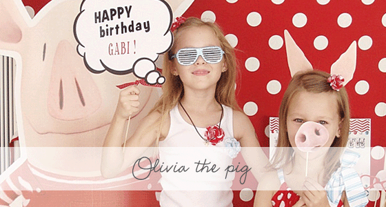 Olivia the Pig Party {Real Party}