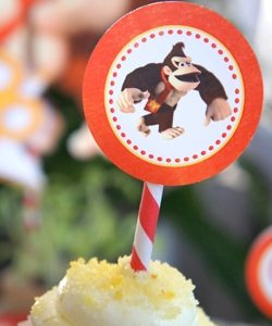donkey kong birthday party ideas