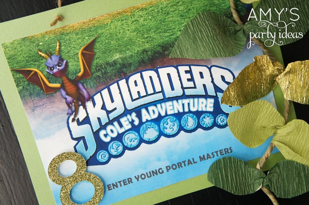 skylanders birthday party ideas, Skylanders Giants Party Ideas & Games | @AmysPartyIdeas #SkylandersGiants #party #DIY #Skylander #Birthday