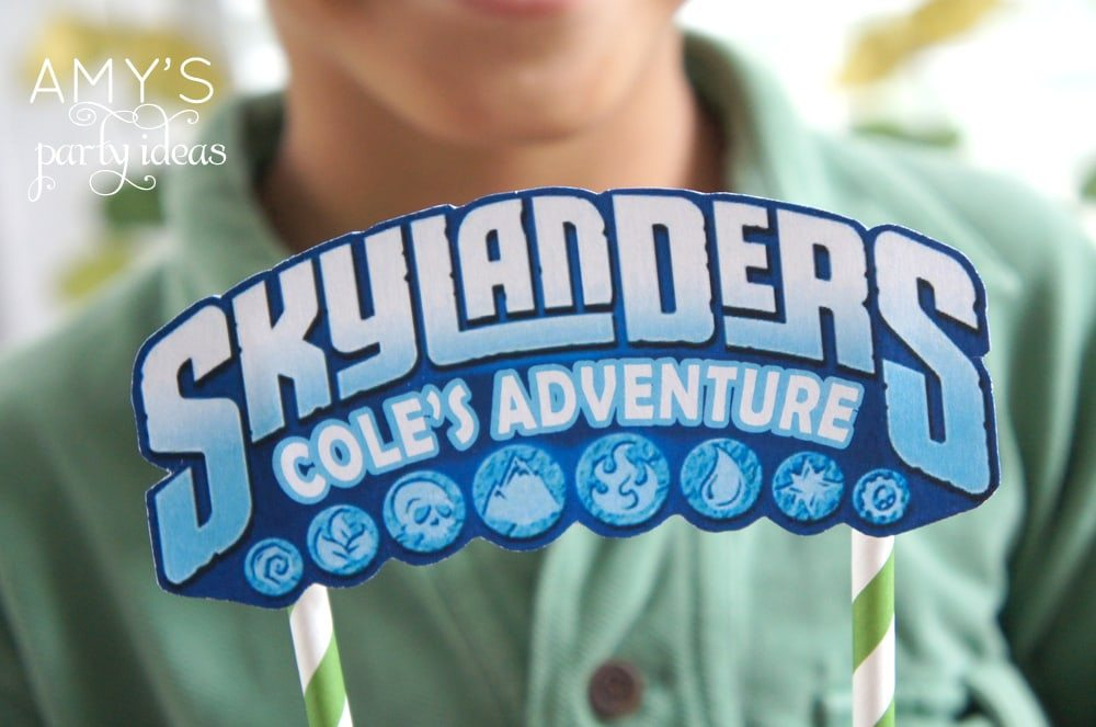 Skylanders Birthday Party Ideas Giants Games