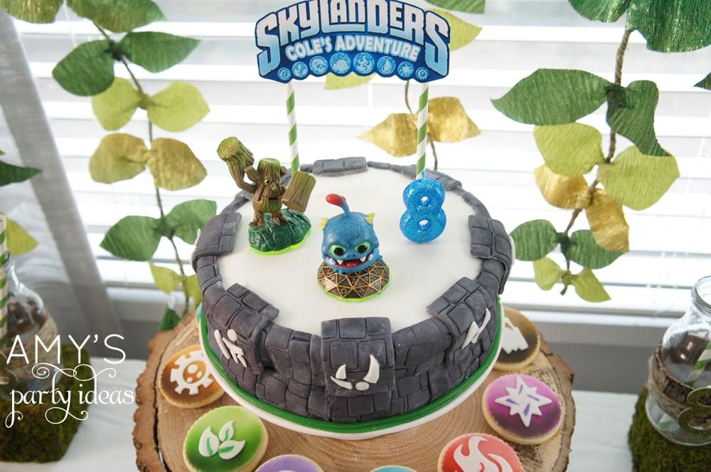 Skylanders Adventure Party Amys Party Ideas