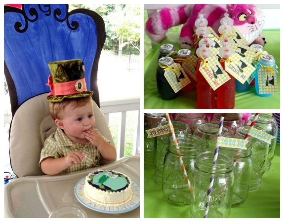 Alice in Wonderland Party Ideas Mad Hatter