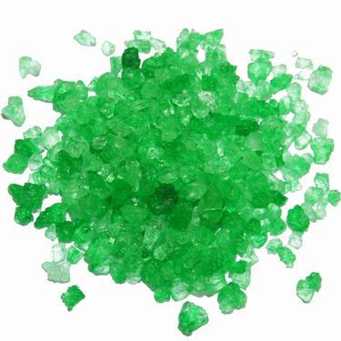 green rock candy crystals wholesale