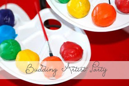 Budding Artist Party {Featured Party}