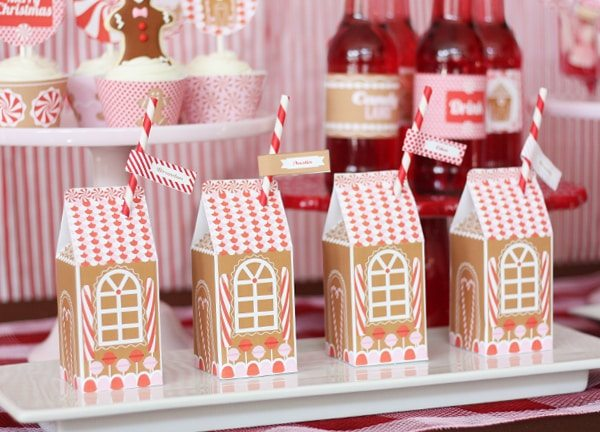Food Ideas For Christmas In July Party.Gingerbread Decorating Party Amy S Party Ideas