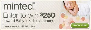 {Giveaway} Win $250 from Minted
