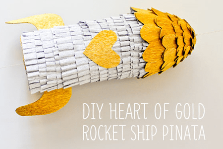 Rocket Ship Pinata Tutorial