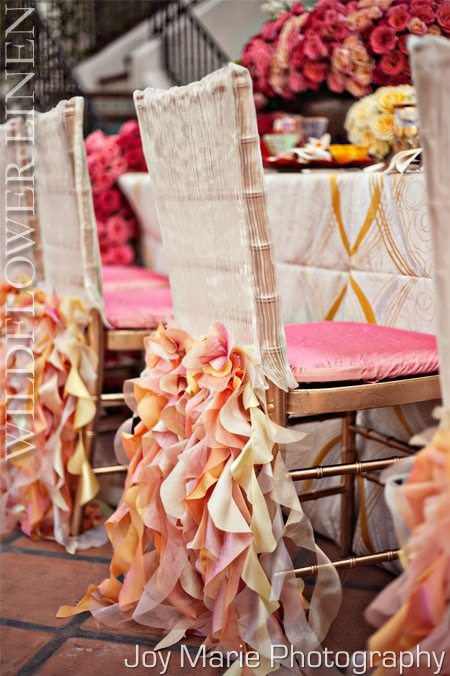 High Fashion Table Linens & Chair Covers from WildlflowerLinens.com