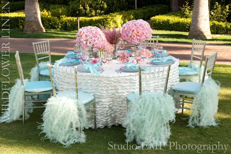 Wildflower Linen High Fashion Table Linens