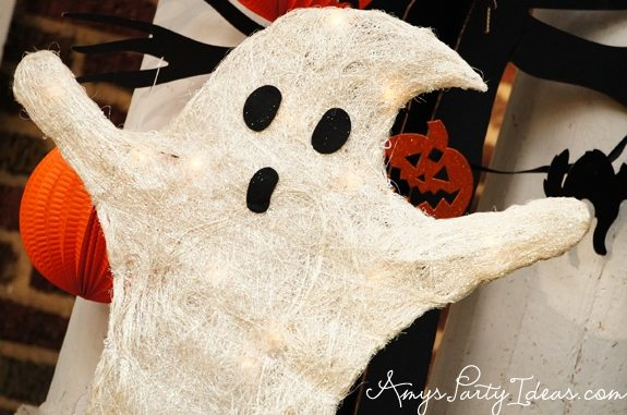 Halloween Party Ideas ghost decorations