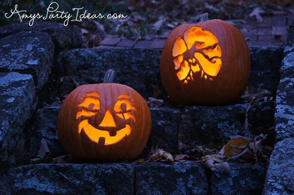 Halloween Party Ideas pumpkin templates