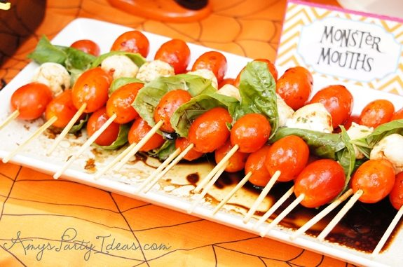 Halloween Party Ideas party food & appetizers