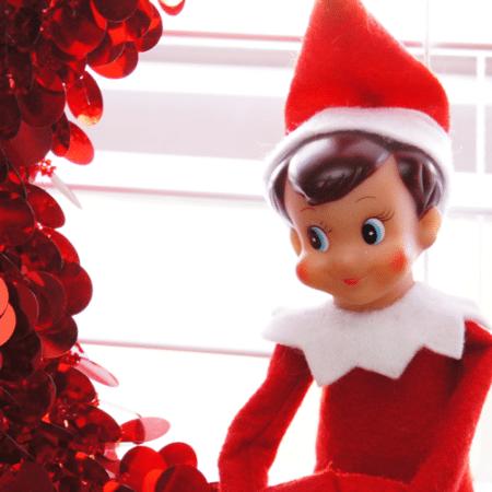 Elf on the Shelf Ideas ~ Day 2