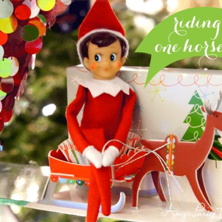 Elf on the Shelf Ideas ~ Day 3