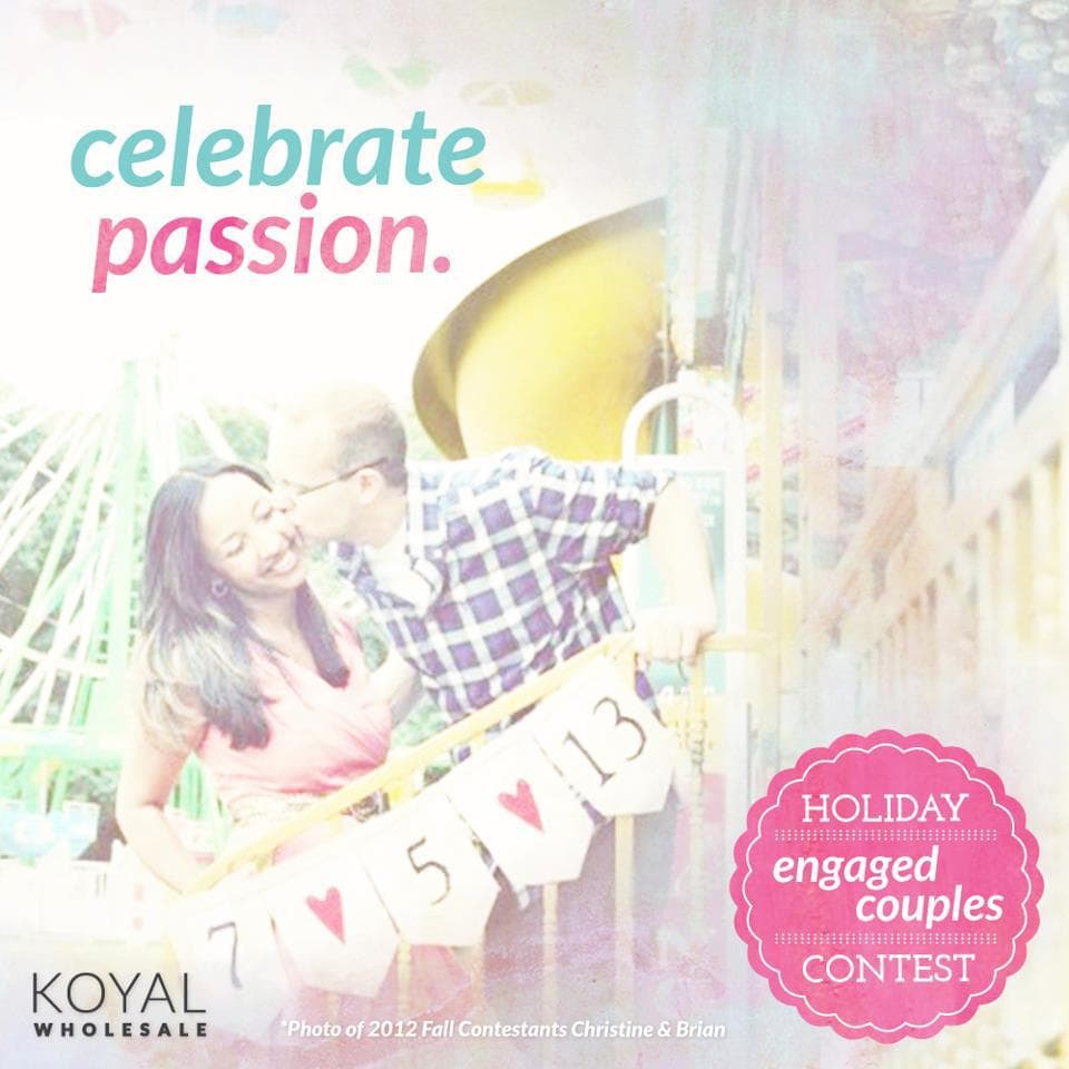 koyal wholesale giveaway december 2012