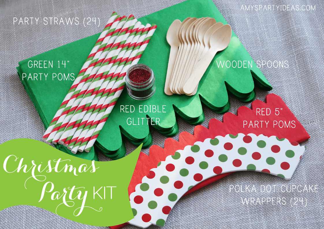 Koyal Christmas Party Kit Giveaway from AmysPartyIdeas.com