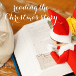 Elf on the Shelf Ideas ~ Day 11 ~ The Christmas Story