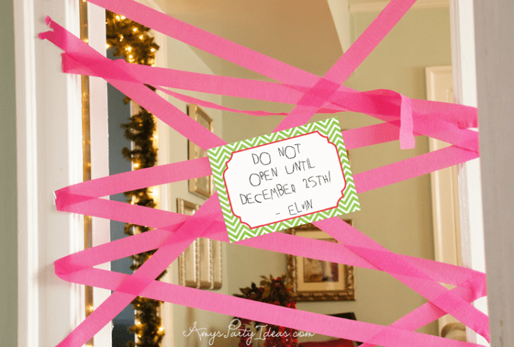 Elf on the Shelf Ideas ~ Day 5