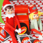Elf on the Shelf Ideas ~ Day 13 ~ Fun & Games