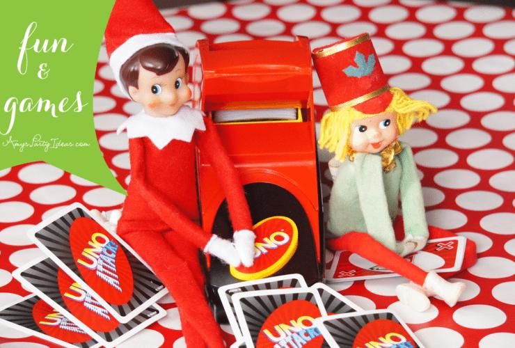 Elf on the Shelf Ideas ~ Day 13 ~ Fun & Games