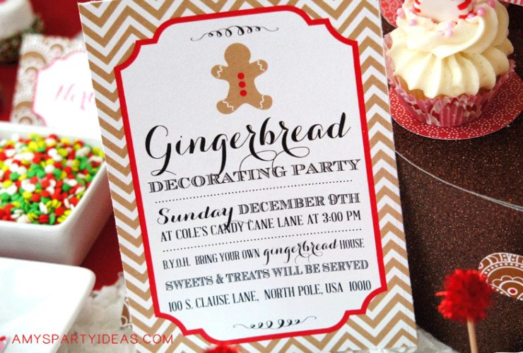 Gingerbread Decorating Party {Real Parties I've Styled}