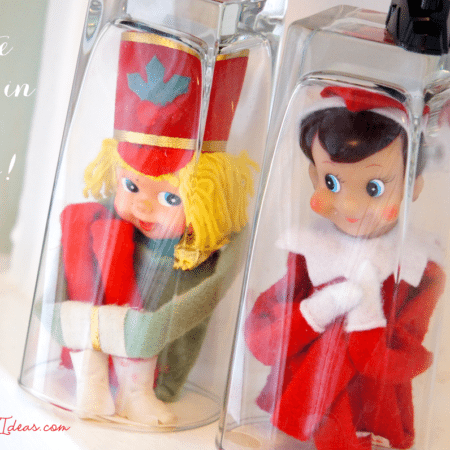 Elf on the Shelf Ideas ~ Day 15 ~ Trapped!
