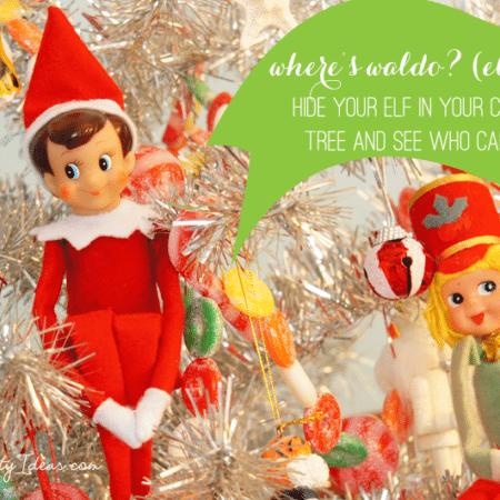Elf on the Shelf Ideas ~ Day 7 ~ Where's Waldo?