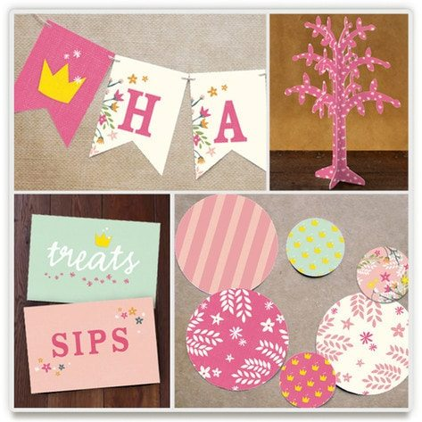 Minted Party Decor Giveaway EXCLUSIVELY on AmysPartyIdeas.com