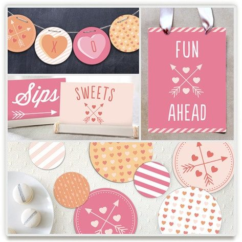 EXCLUSIVE Valentines Dream Party Package Giveaway from AmysPartyIdeas.com & Minted