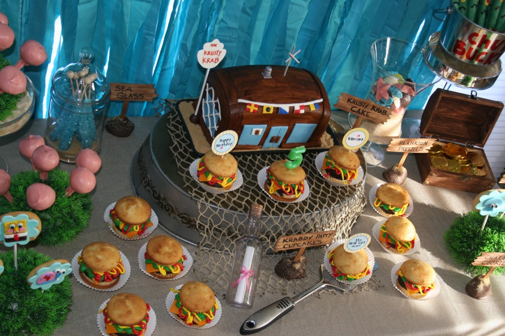 Spongebob Squarepants Birthday Party Ideas From PartyNVcom As Seen On