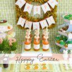Hoppy Easter Dessert Table